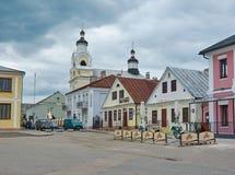 Kyrka av St Nicholas i Novogrudok, Vitryssland arkivfoto