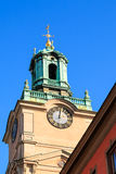 Kyrka av St Nicholas, Stockholm royaltyfri foto