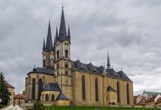 Kyrka av St Nicolas, Cheb, tjeckisk republik Royaltyfri Foto