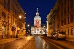 Kyrka av St. Panteleimon Fotografering för Bildbyråer