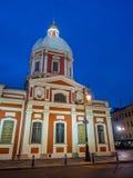 Kyrka av St Panteleimon botemedelen, St Petersburg, Ryssland arkivfoto
