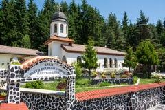 Kyrka av St Panteleimon i klostermetochionen i Bulgarien Arkivbilder