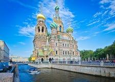 Kyrka av St Paraskeva Piatnitsa Arkivfoto