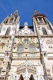 Kyrka av St Peter i Regensburg, Tyskland Royaltyfri Fotografi
