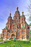 Kyrka av St. Peter och Paul kyrka, Peterhof Royaltyfri Bild