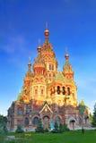 Kyrka av St. Peter och Paul kyrka, Peterhof Royaltyfri Foto