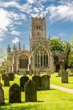 Kyrka av St Peter och St Paul, Northleach, Cotswold Royaltyfria Foton
