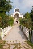 Kyrka av St. Petka i den Rupite Bulgarien Fotografering för Bildbyråer