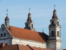 Kyrka av St-Raphael ärkeängeln Royaltyfri Bild