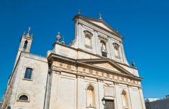 Kyrka av St Rocco Ceglie Messapica Puglia italy fotografering för bildbyråer