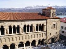 Kyrka av St Sophia i Ohrid Arkivbild