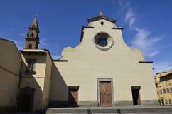 Kyrka av St. Spirito, Florence 2 Royaltyfria Foton