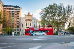 Kyrka av St Theresa och St Jose, Madrid fotografering för bildbyråer