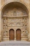 Kyrka av St. Thomas aposteln i Haro Royaltyfri Fotografi