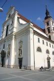 Kyrka av St Thomas (Brno) Royaltyfria Foton