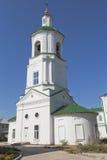 Kyrka av Stephen av permanenten i Kotlas, Arkhangelsk region royaltyfri foto