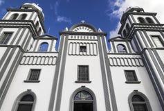 Kyrka av Suyapa, Honduras Royaltyfri Fotografi
