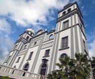 Kyrka av Suyapa, Honduras Arkivbilder