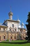Kyrka av symbolen av modern av guden Hodegetria i Rostov, Ru Arkivbilder