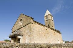 Kyrka av Taize, Burgundy, Frankrike Royaltyfri Bild
