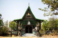 Kyrka av Thailand, gräsplan, tempel Thailand, Thailand kultur, pe Arkivbilder