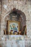 Kyrka av tillträdeet av Herren in i Jerusalem Arkivbilder