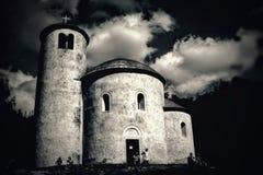 Kyrka av tjeckiska nationer Royaltyfri Fotografi