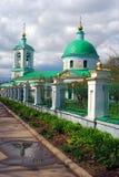 Kyrka av Treenighet i Vorobyoven, Moskva Royaltyfri Foto