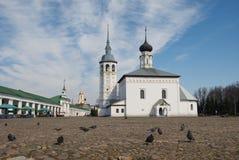 Kyrka av uppståndelsen i Suzdal Royaltyfria Foton