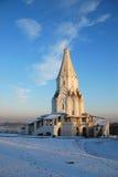 Kyrka av uppstigningen i Kolomenskoe Royaltyfri Fotografi