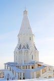 Kyrka av uppstigningen i Kolomenskoye, Moscow Royaltyfria Foton