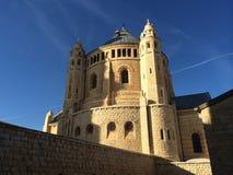 Kyrka av uppstigningen Jerusalem Arkivfoto