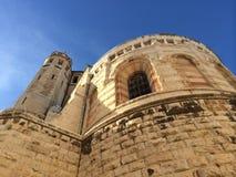 Kyrka av uppstigningen Jerusalem Arkivbilder