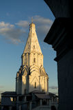Kyrka av uppstigningMoskva Arkivfoto