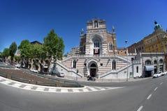 Kyrka av vår dam av Lourdes i Rijeka, Kroatien Royaltyfria Bilder
