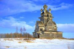 Kyrka av vår dam av Vladimir Arkivbild