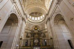 Kyrka av Val de Grace, Paris, Frankrike Arkivfoto