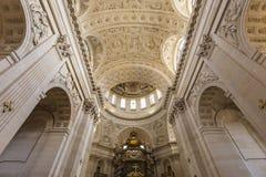 Kyrka av Val de Grace, Paris, Frankrike Royaltyfria Foton