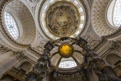 Kyrka av Val de Grace, Paris, Frankrike Arkivbilder