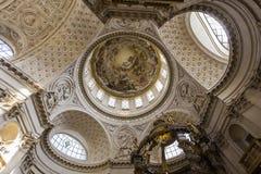 Kyrka av Val de Grace, Paris, Frankrike Fotografering för Bildbyråer