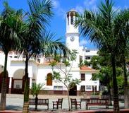 Kyrka av Virgen del Spårvagnsförare i Los Cristianos, Tenerife Royaltyfria Bilder