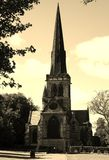 Kyrka av wentworth rotherham Fotografering för Bildbyråer