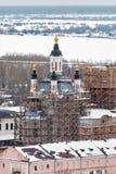 Kyrka av Zakhariya och Elizabeth i Tobolsk Fotografering för Bildbyråer