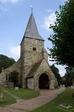 Kyrka Burwash för St Batholomews Royaltyfri Fotografi
