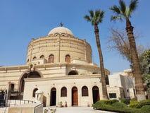 Kyrka - Coptic Kairo - Egypten arkivbild