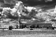 Kyrka Dakota arkivfoton
