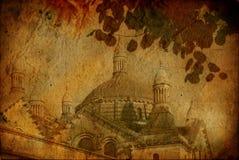 kyrka danat gammalt Royaltyfria Bilder