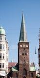 kyrka för 02 aarhus Arkivfoton