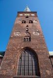 kyrka för 03 aarhus Arkivbilder