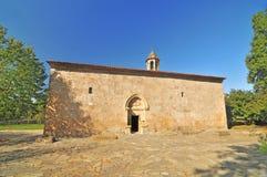 Kyrka för alban Chotari eller Cotari royaltyfria bilder